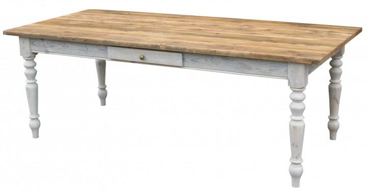 gr nderzeit tisch massivholz antik braun shabby chic m bel wohnpalast m bel. Black Bedroom Furniture Sets. Home Design Ideas