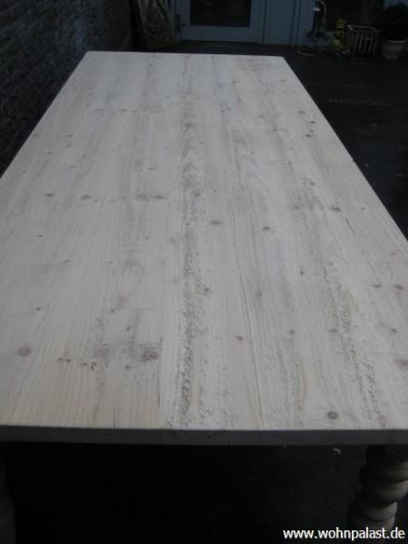 esstisch 200 gr nderzeit massivholz shabby chic eet472tg. Black Bedroom Furniture Sets. Home Design Ideas