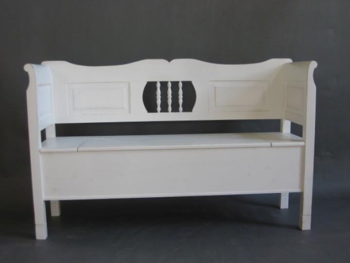 weichholz bank im landhaus stil m bel wohnpalast m bel. Black Bedroom Furniture Sets. Home Design Ideas