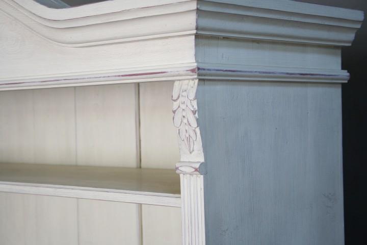 massivholz regal im landhausstil wei m bel wohnpalast. Black Bedroom Furniture Sets. Home Design Ideas