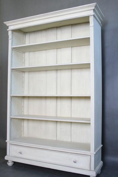 regal landhaus shabby chic wei m bel wohnpalast m bel. Black Bedroom Furniture Sets. Home Design Ideas