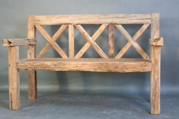 Möbel aus treibholz  Treibholz Bank Teak Teakmöbel - | Wohnpalast Möbel