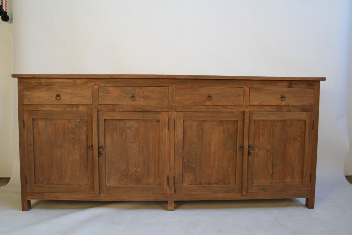 anrichte im vintage look aus teak m bel wohnpalast m bel. Black Bedroom Furniture Sets. Home Design Ideas