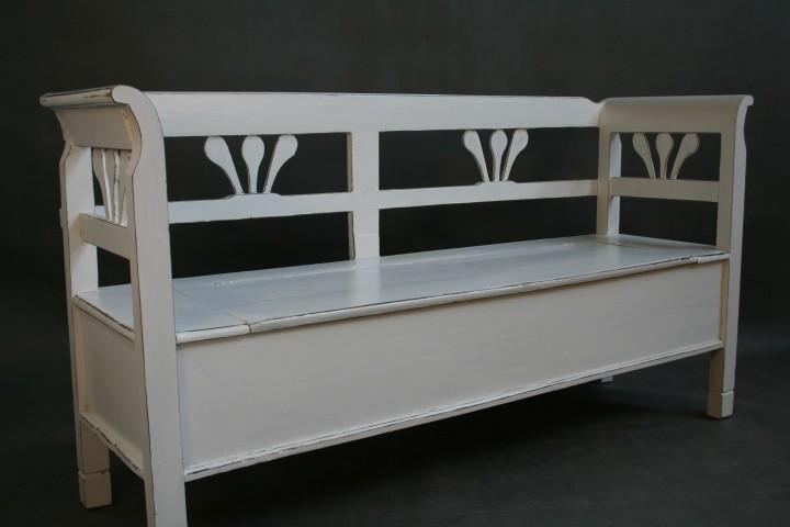 truhenbank shabby chic antik m bel wohnpalast m bel. Black Bedroom Furniture Sets. Home Design Ideas