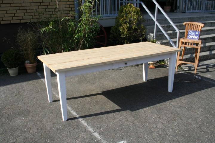 landhaus tisch wei interessante ideen f r. Black Bedroom Furniture Sets. Home Design Ideas