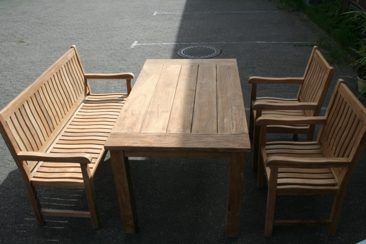 GartenmöbelSet Teak Teakmöbel  online kaufen im Antik Möbel Shop