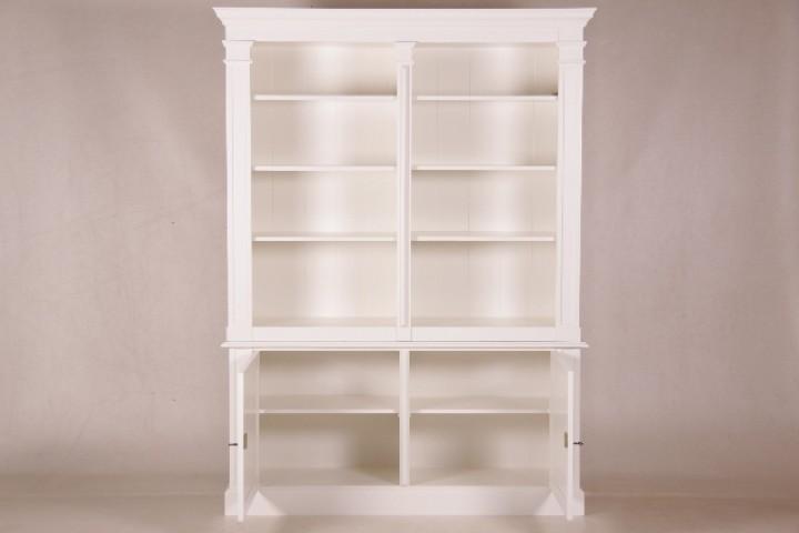 b cherschrank wei country 160 cm m bel wohnpalast m bel. Black Bedroom Furniture Sets. Home Design Ideas