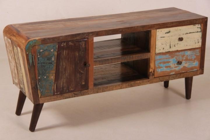 multimedia kommode im industrial sixties design m bel. Black Bedroom Furniture Sets. Home Design Ideas
