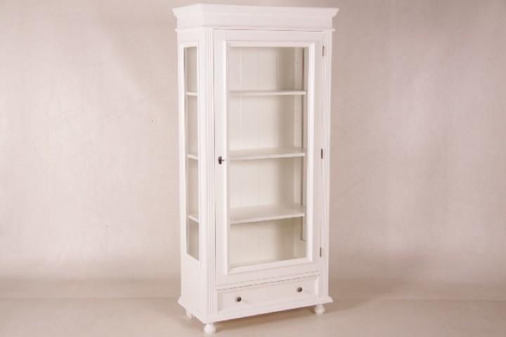vitrine romantica wei landhausm bel wohnpalast m bel. Black Bedroom Furniture Sets. Home Design Ideas