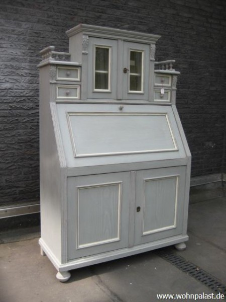 sekret r shabby chic grau m bel wohnpalast m bel. Black Bedroom Furniture Sets. Home Design Ideas