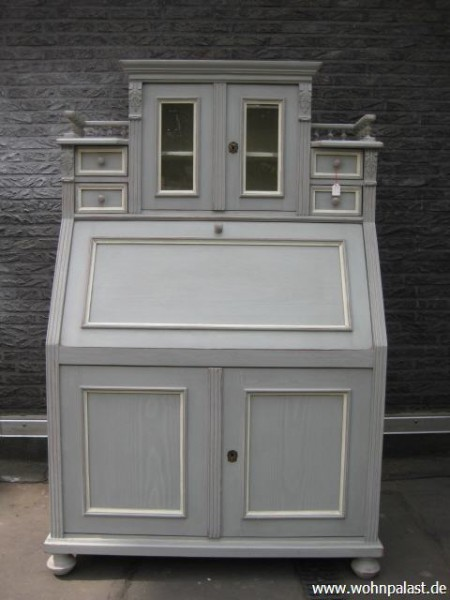 sch ner jugendstil sekret r shabby chic m bel wohnpalast m bel. Black Bedroom Furniture Sets. Home Design Ideas