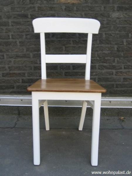 teak stuhl vintage style zweifarbig teakm bel wohnpalast m bel. Black Bedroom Furniture Sets. Home Design Ideas